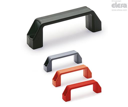M.443-CH - Bridge handles, Polyamide, for cylindrical head screws
