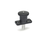 GN 822.8-Mini indexing plungers with flange