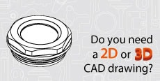 Do you need 2D or 3D CAD drawings? Accessories for hydraulic systems